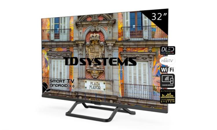Smart TV TD Systems de 32 pulgadas K32DLX10HS