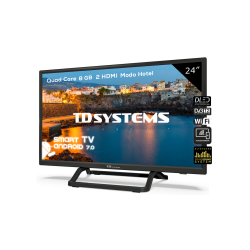 "TV 24"" Led HD Smart TD Systems K24DLX9HS"